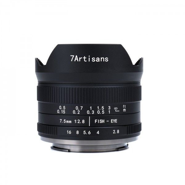 7Artisans 7,5mm f/2,8 II Fisheye f. Sony E (APS-C)