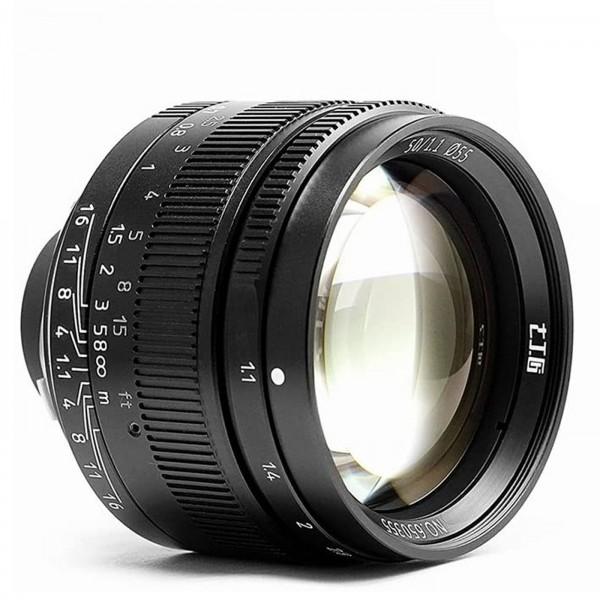 7Artisans 50mm f/1,1 für Leica M