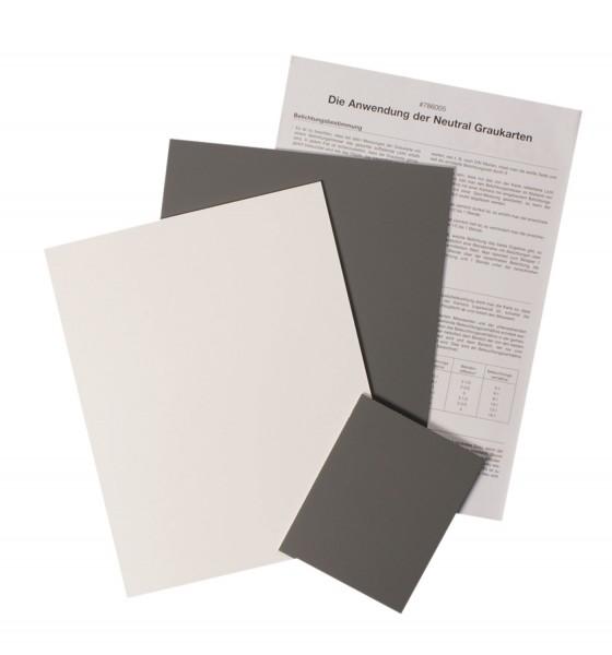 B.I.G. Graukarten-Set 3St. (2x 20x25cm+1x 10x12cm)