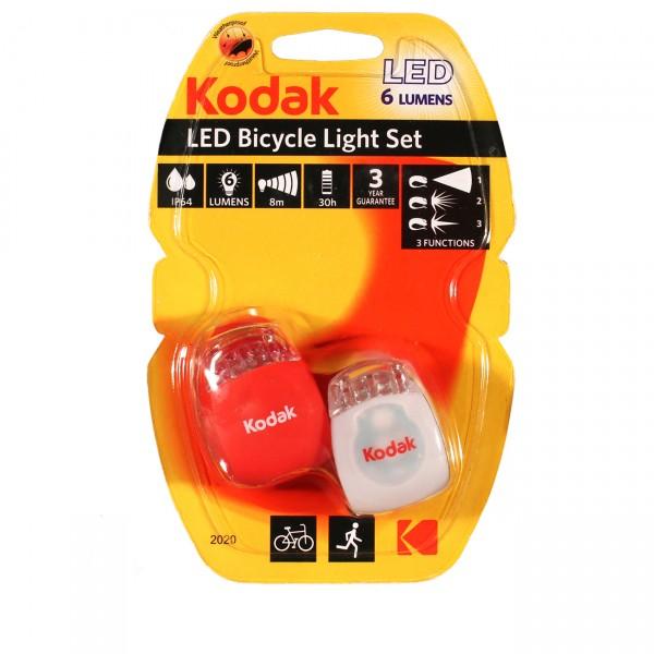 KODAK LED Fahrradlampe, 6 Lm Doppelpack