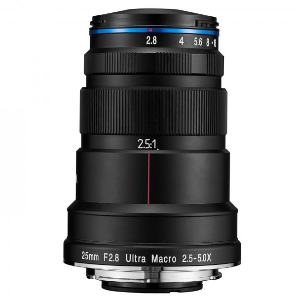 LAOWA 25mm f/2,8 Ultra Macro 2,5-5X für Sony E