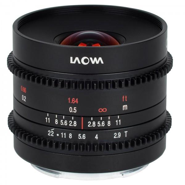 LAOWA 9mm T2.9 Zero-D Cine für Fuji X