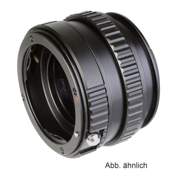 B.I.G. Makrofokus-Adapter Canon EF an Fuji X