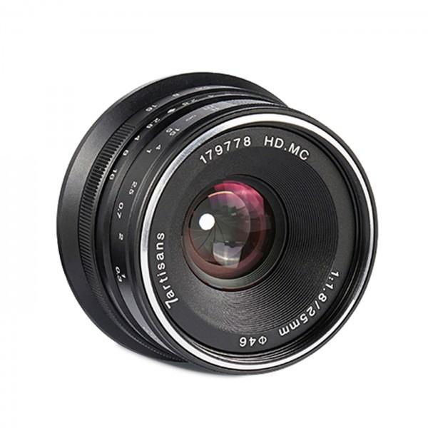 7Artisans 25mm f/1,8 für Fuji X