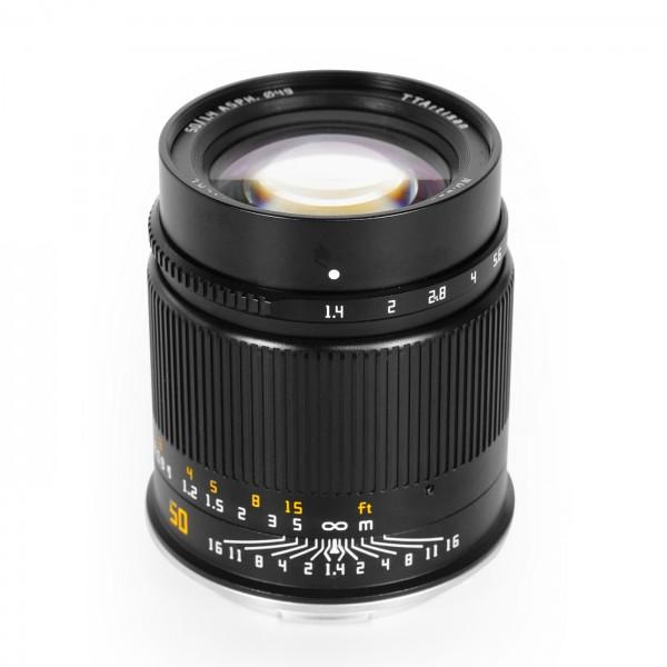 TTArtisan 50mm f/1,4 für L-Mount