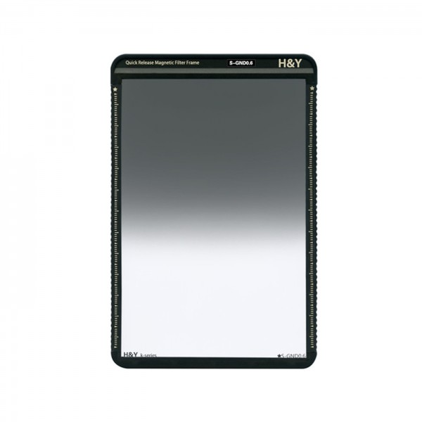 H&Y HD Soft GND Filter ND0,6 mit Magnetrahmen