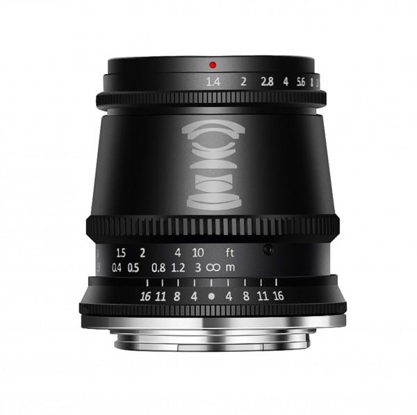 TTArtisan 17mm f/1,4 für Nikon Z (APS-C)